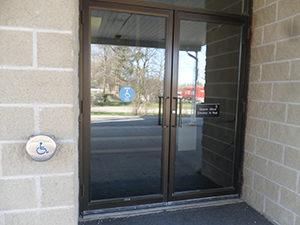 Accessible front door