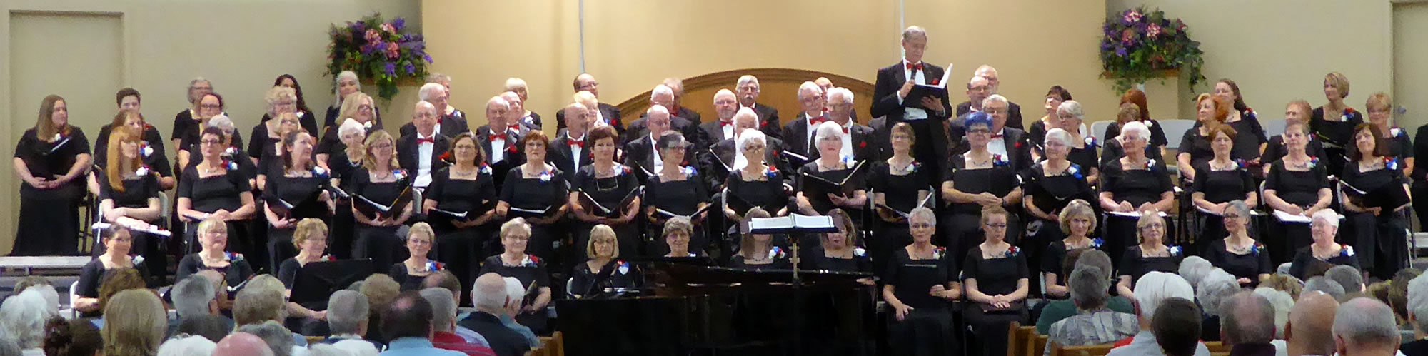 Georgetown Choral Society Performance, Spring 2018